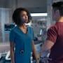 April and Ethan Argue - Chicago Med Season 5 Episode 1