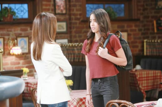 Ciara Leaves For Hong Kong - Days of Our Lives