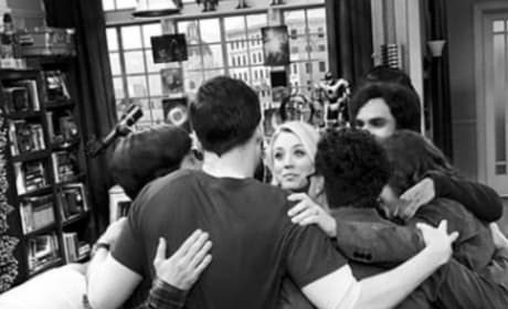 The Big Bang Theory Cast Says Goodbye as Series Wraps Production