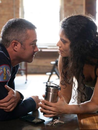 Stellaride - Chicago Fire Season 8 Episode 10