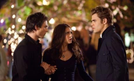 Damon, Elena and Stefan