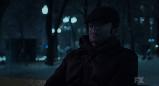 On a Park Bench - The Americans