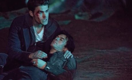 What's Going On Here Then? - The Vampire Diaries Season 8 Episode 14