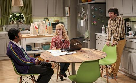 Can Raj Help? - The Big Bang Theory Season 10 Episode 6
