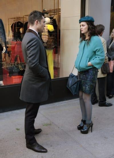 Chuck and Blair Talk