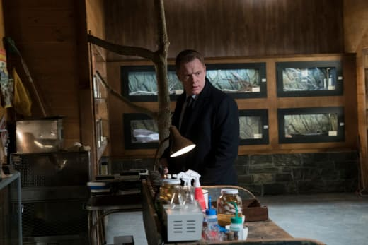 Ressler looks for snakes - The Blacklist Season 4 Episode 15