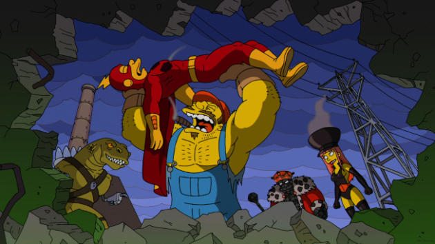 Trouble on The Simpsons