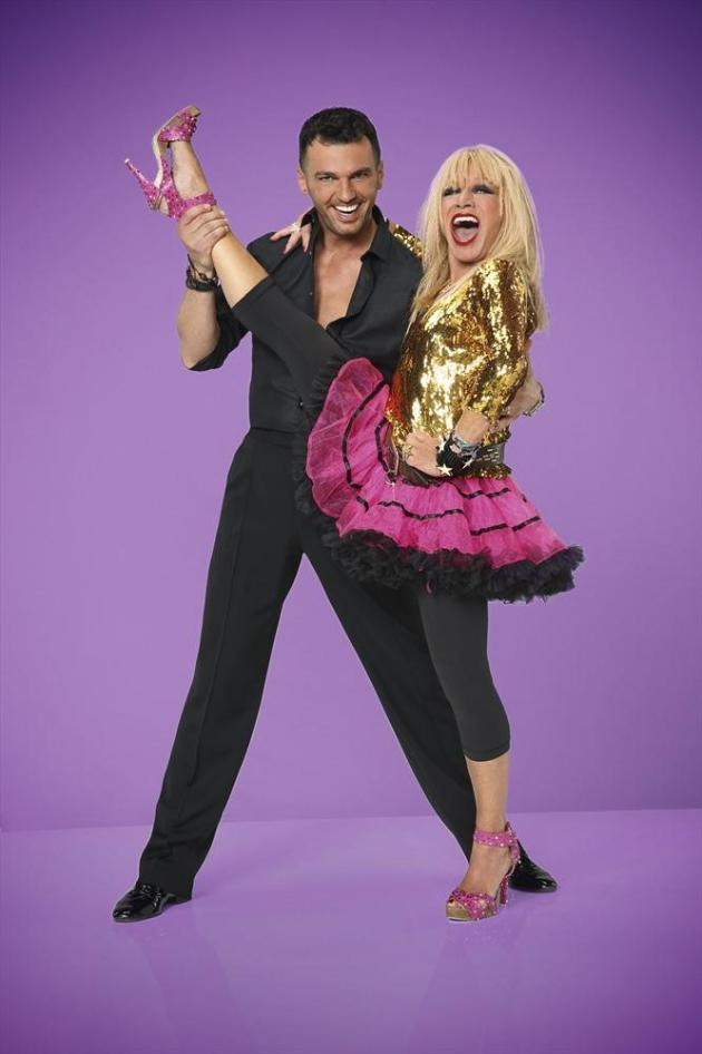 Betsey Johnson and Tony Dovolani - Dancing With the Stars