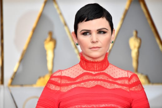 Ginnifer Goodwin Attends Event