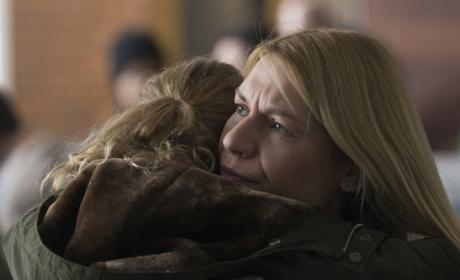 Carrie and Franny Reunite - Homeland