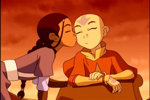 Aang and Katara (Avatar: The Last Airbender)