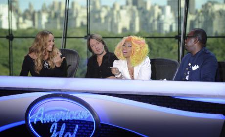 Idol Judging Team
