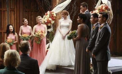 Grey's Anatomy Midseason Finale Photos: An April Wedding