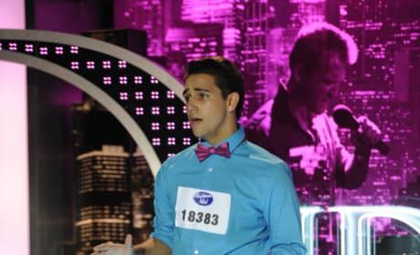 Lazaro Arbos Audition Pic