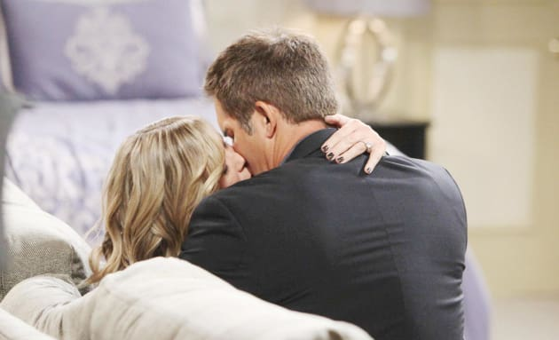 Rafe Kisses Sami - Days of Our Lives
