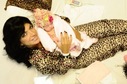 Teresa and Daughter