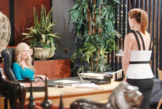 Busted!!! - The Young and the Restless