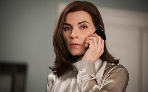 Alicia on phone