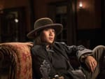 Mei relaxes after a long day - Hell on Wheels Season 5 Episode 9