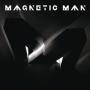Magnetic man flying into tokyo