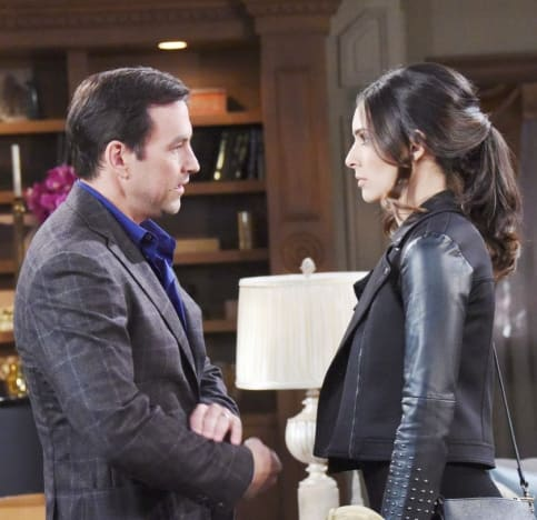 (TALL) Gabi Talks Herself Out of Trouble - Days of Our Lives