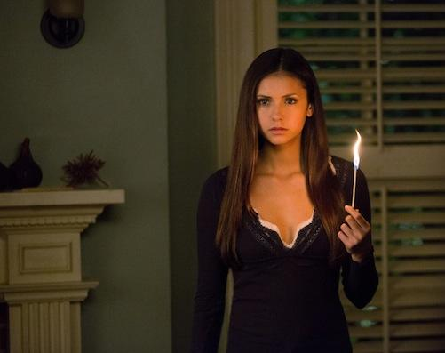Elena with Fire Pic