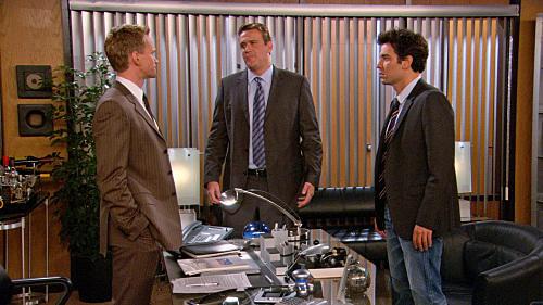Barney, Ted and Marshall