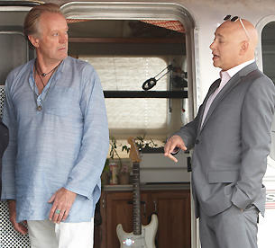 Peter Fonda on Californication