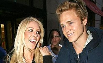 Heidi Montag Smilin', Hangin' with Spencer Pratt