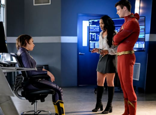 Mom and Dad Lecture Nora - The Flash Season 5 Episode 5