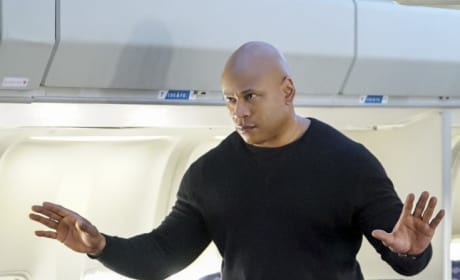 Sam on a Plane - NCIS: Los Angeles Season 8 Episode 19