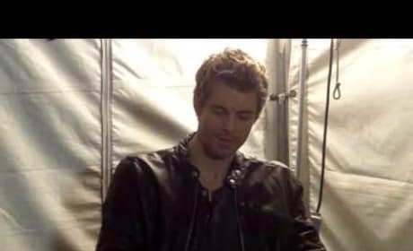 Luke Mitchell Set Interview