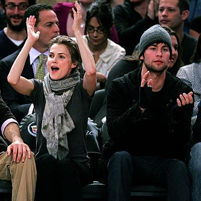 Chace Crawford, Keri Russell