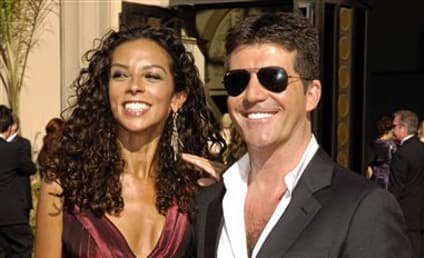American Idol Picture of the Day: Simon Cowell and Terri Seymour