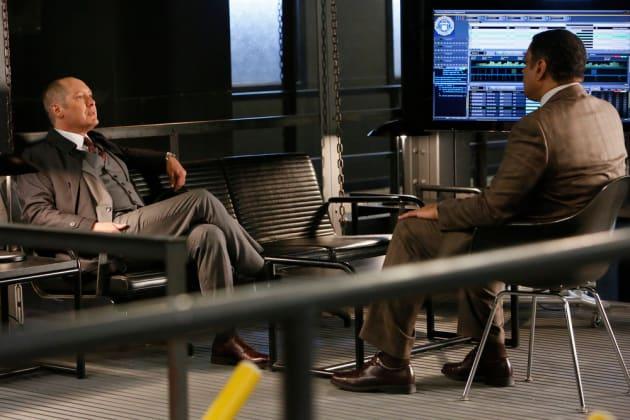 Harold and Red talk away - The Blacklist Season 4 Episode 11